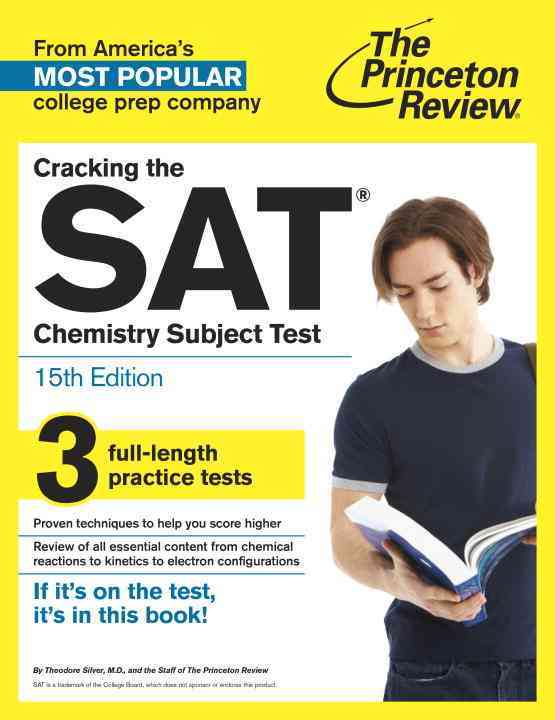 Princeton Review Cracking the Sat Chemistry Subject Test By Princeton Review (COR)